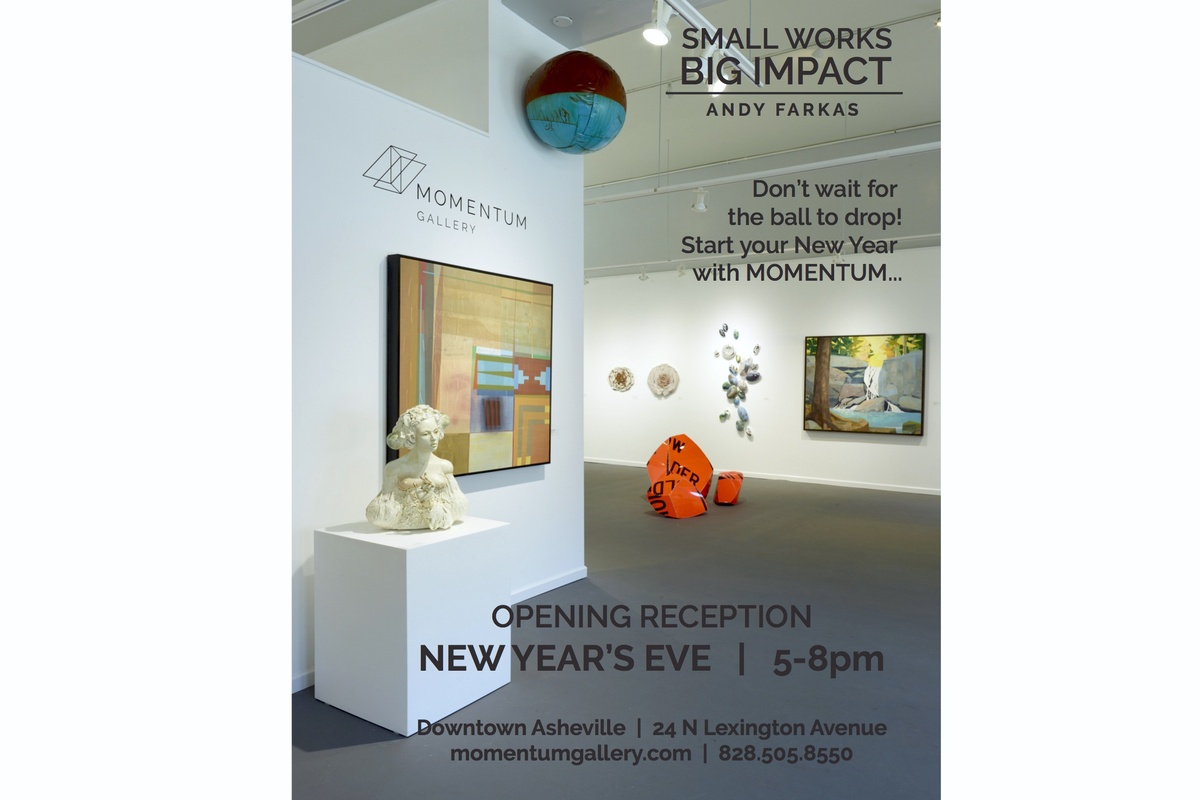 New Year's Eve Reception 5-8pm. Free & Open to the Public.